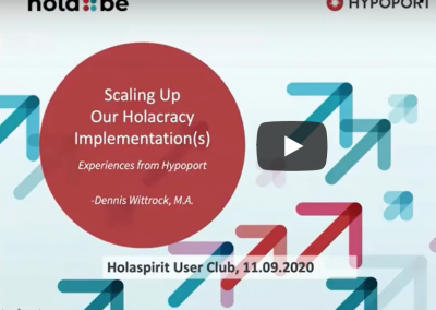 Video: Scaling up our Holacracy Implementation(s) – Holaspirit User Club
